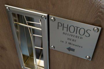 Ausschnitt von altem Fotoautomat