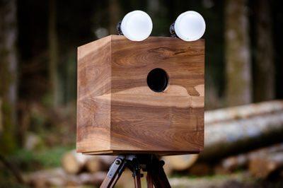 The wooden Booth - Ivan Steiner Fotografie
