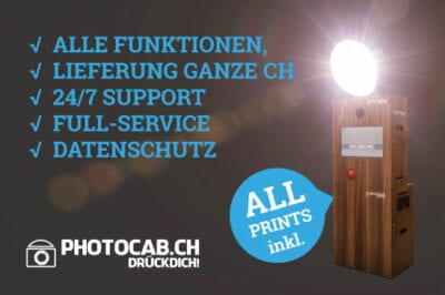 photocab.ch, Fotoboxen-Vergleich