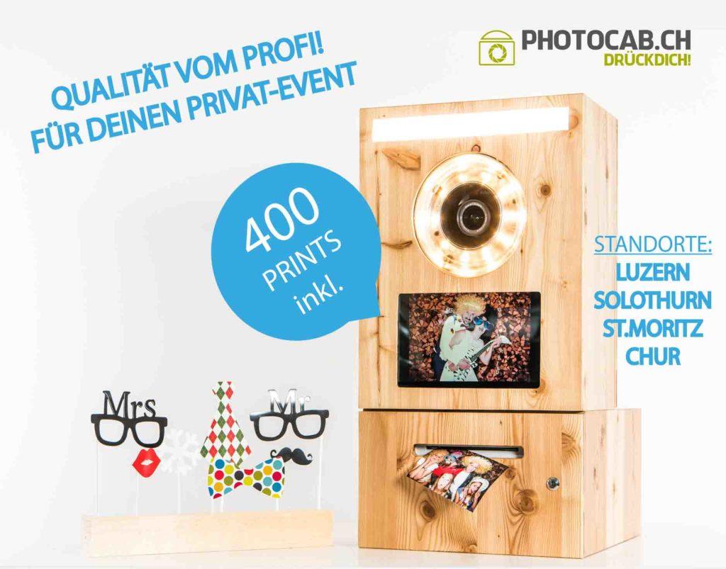 fotobox photobox cab