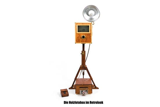 retro fotobox holz fotobooth photobox photobooth